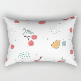 Summer Fruits Rectangular Pillow