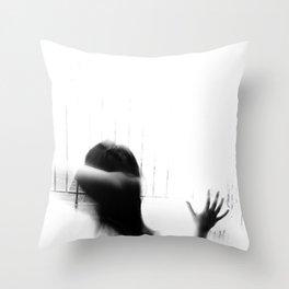Hearing Damage Throw Pillow