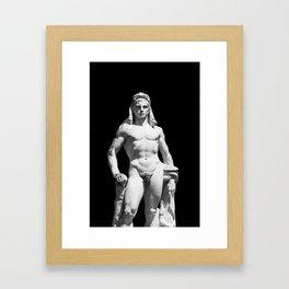 Olympia - Hercules Framed Art Print