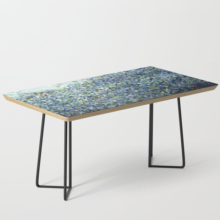 Leo Carrillo Dotted Beach Pattern Coffee Table