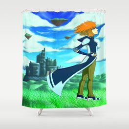 Tales of a Wanderer Shower Curtain