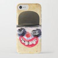 clown iPhone & iPod Cases featuring Clown by Ahmet Hacıoğlu