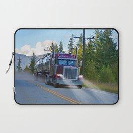 Trans Canada Trucker Laptop Sleeve