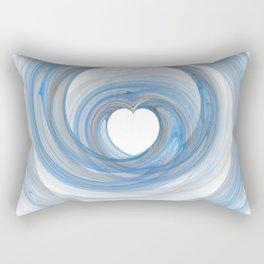 Valentine's Fractal VI - Light Rectangular Pillow