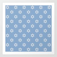 israel Art Prints featuring Israel Love by Lilach Oren