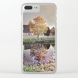 On the Canal Clear iPhone Case