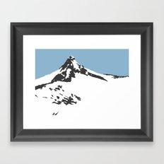 Mount Aspiring Framed Art Print