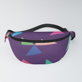 Colorful geometric pattern IV Fanny Pack