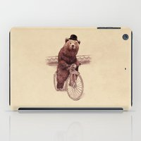 jazzberry iPad Cases featuring Barnabus by Eric Fan