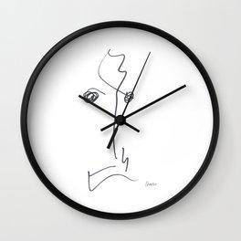 Demeter Moji d14 4-1 w Wall Clock
