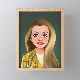 Ugh, As If! Framed Mini Art Print