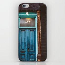 Brooklyn Door II iPhone Skin