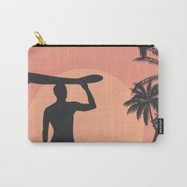Sunset Beach Surfer Carry-All Pouch
