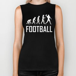Football Evolution Biker Tank