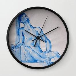Monochrome Despair Wall Clock