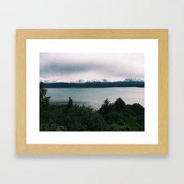 Homer, Alaska Framed Art Print