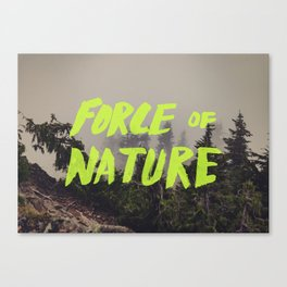 Force of Nature x Cloud Forest Canvas Print