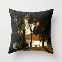romance Throw Pillows featuring Romance by NaturallyJess