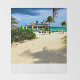 Castaway Cay - DCL Throw Blanket