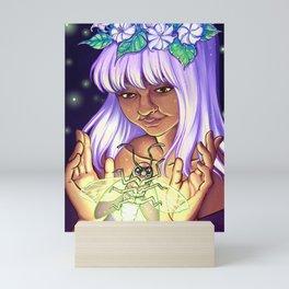 Firefly Witch Mini Art Print