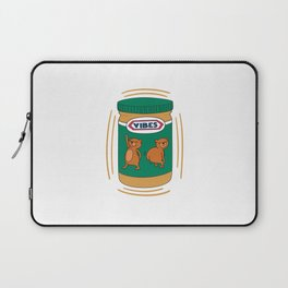 Peanut Butter Vibes - Smooth Laptop Sleeve