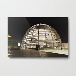F O S T E R | architect | Reichstag, New German Parliament Metal Print