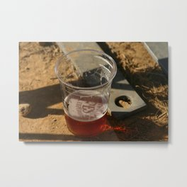 you are the IPA in my compostable corn-based cup Metal Print
