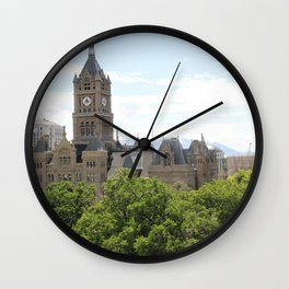 Clock Tower Town Wall Clock