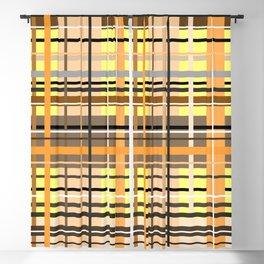 Sunny tartan plaid pattern Blackout Curtain
