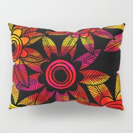 Big Floral 1 Pillow Sham
