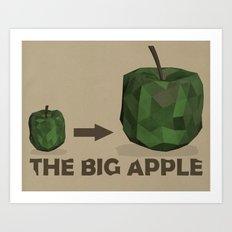 The Big Apple Art Print