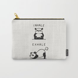 Inhale Exhale Panda Carry-All Pouch