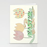 easter Stationery Cards featuring Easter by LoRo  Art & Pictures