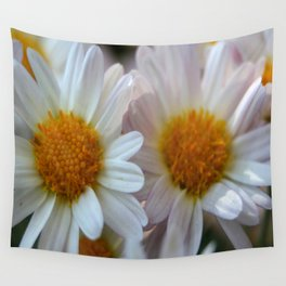 Hazy Day Daisies  Wall Tapestry
