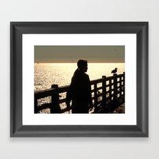 Good and Quiet Framed Art Print