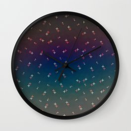 Forced Polarity Wall Clock