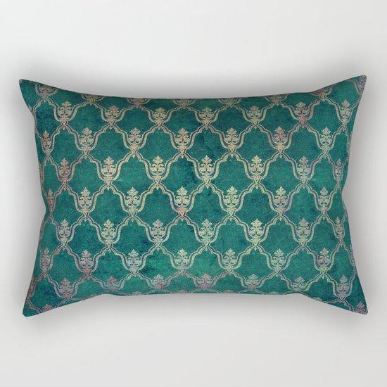 Damask Vintage Pattern 01 Rectangular Pillow