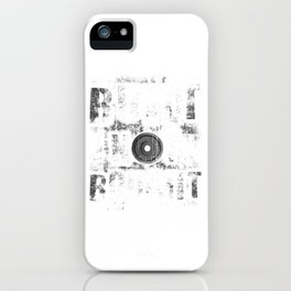 Funny Built Not Bought Weightlifting Gym iPhone Case