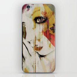 Pages Abstract Portrait iPhone Skin