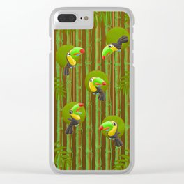 Toucan Party! Clear iPhone Case