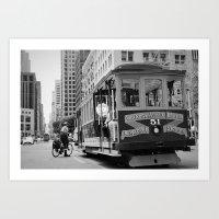 51st Ride Art Print
