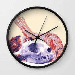 Carnivore- Feline Wall Clock