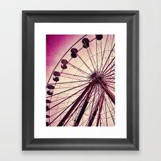 Ferris Wheel 3 Framed Art Print