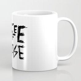 Coffee Please Hand Lettered Art Coffee Mug
