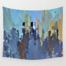 City in the Sky Wall Tapestry