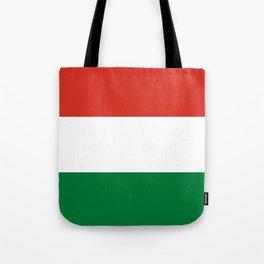 Flag: Hungary Tote Bag