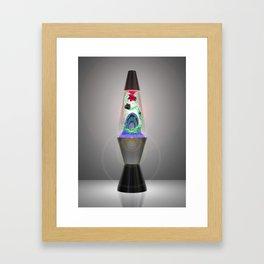 Lava Ferry Framed Art Print