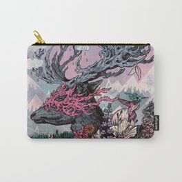 Journeying Spirit (deer) sunset Carry-All Pouch