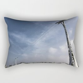 Emirates Airline Cable Car Rectangular Pillow