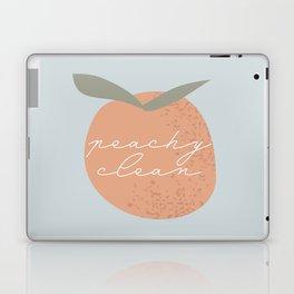 Peachy Clean Blue Laptop & iPad Skin